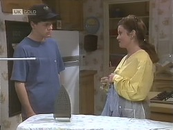 Michael Martin, Julie Robinson in Neighbours Episode 1843