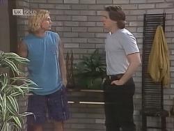 Brad Willis, Cameron Hudson in Neighbours Episode 1844