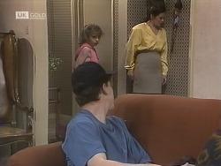 Michael Martin, Hannah Martin, Julie Robinson in Neighbours Episode 1844