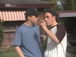 Michael Martin, Jordan Farnsworth in Neighbours Episode 1844