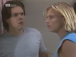Cameron Hudson, Brad Willis in Neighbours Episode 1844