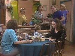 Pam Willis, Helen Daniels, Wayne Duncan, Gaby Willis, Doug Willis, Brad Willis in Neighbours Episode 1844