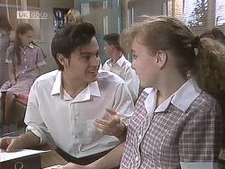 Rick Alessi, Debbie Martin in Neighbours Episode 1845