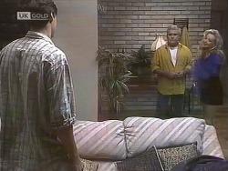 Cliff Ritter, Lou Carpenter, Annalise Hartman in Neighbours Episode 1846