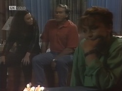 Gaby Willis, Doug Willis, Pam Willis in Neighbours Episode 1846