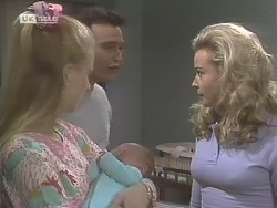 Phoebe Bright, Stephen Gottlieb, Hope Gottlieb, Annalise Hartman in Neighbours Episode 1847