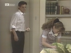 Rick Alessi, Debbie Martin in Neighbours Episode 1847