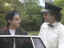 Rick Alessi, Chauffeur in Neighbours Episode 1848