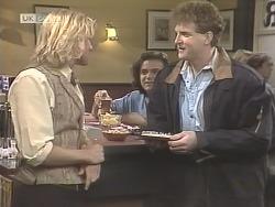 Brad Willis, Wayne Duncan, Hawker in Neighbours Episode 1848