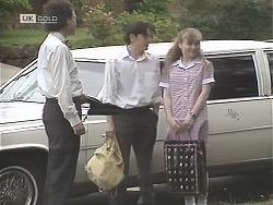 Chauffeur, Rick Alessi, Debbie Martin in Neighbours Episode 1848