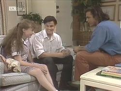 Debbie Martin, Rick Alessi, Wayne Duncan in Neighbours Episode 1848