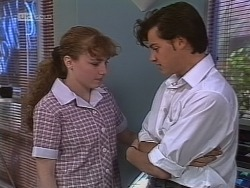 Debbie Martin, Rick Alessi in Neighbours Episode 1851