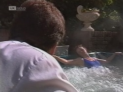 Michael Martin, Julie Robinson in Neighbours Episode 1851
