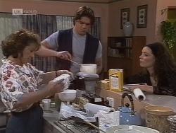 Pam Willis, Cameron Hudson, Gaby Willis in Neighbours Episode 1853