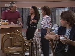 Doug Willis, Gaby Willis, Pam Willis, Cameron Hudson in Neighbours Episode 1853