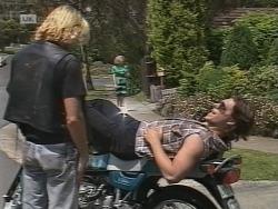 Brad Willis, Cameron Hudson in Neighbours Episode 1854