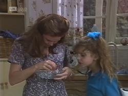Julie Martin, Hannah Martin in Neighbours Episode 1854