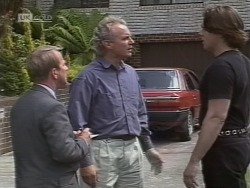 Mr. Cross, Jim Robinson, Cameron Hudson in Neighbours Episode 1854