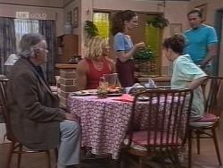 Bert Willis, Brad Willis, Gaby Willis, Pam Willis, Doug Willis in Neighbours Episode 1854