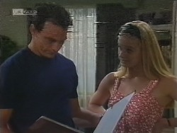 Stephen Gottlieb, Phoebe Bright in Neighbours Episode 1856