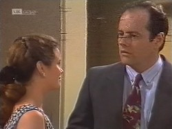 Julie Robinson, Philip Martin in Neighbours Episode 1856