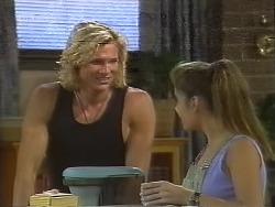 Brad Willis, Beth Brennan in Neighbours Episode 1857