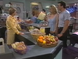 Cathy Alessi, Phoebe Bright, Stephen Gottlieb in Neighbours Episode 1857