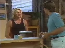 Brad Willis, Cameron Hudson in Neighbours Episode 1857