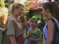 Helen Daniels, Hannah Martin, Beth Brennan in Neighbours Episode 1857