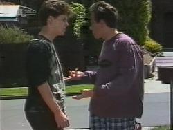Michael Martin, Jordan Farnsworth in Neighbours Episode 1857