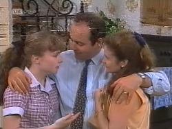 Debbie Martin, Philip Martin, Julie Martin in Neighbours Episode 1857