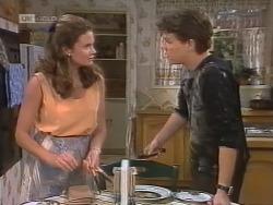 Julie Martin, Michael Martin in Neighbours Episode 1857