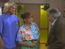 Brad Willis, Pam Willis, Bert Willis in Neighbours Episode 1858