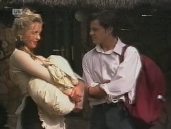 Annalise Hartman, Rick Alessi in Neighbours Episode 1859