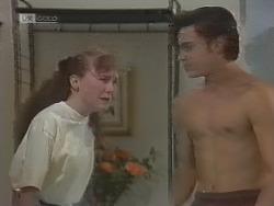 Debbie Martin, Rick Alessi in Neighbours Episode 1859