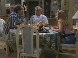 Cameron Hudson, Lou Carpenter, Lauren Turner in Neighbours Episode 1860