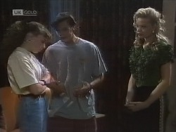 Debbie Martin, Rick Alessi, Annalise Hartman in Neighbours Episode 1860