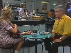 Annalise Hartman, Cathy Alessi, Lou Carpenter in Neighbours Episode 1860