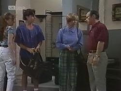 Debbie Martin, Rick Alessi, Cathy Alessi, Benito Alessi in Neighbours Episode 1860