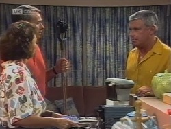 Pam Willis, Doug Willis, Lou Carpenter in Neighbours Episode 1861