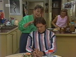 Pam Willis, Cameron Hudson, Lauren Turner in Neighbours Episode 1861