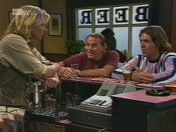 Brad Willis, Doug Willis, Cameron Hudson in Neighbours Episode 1861