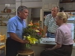 Lou Carpenter, Jim Robinson, Helen Daniels in Neighbours Episode 1861