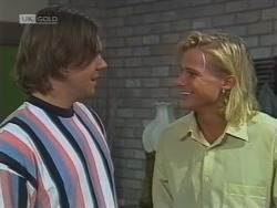 Cameron Hudson, Brad Willis in Neighbours Episode 1861