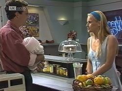 Stephen Gottlieb, Hope Gottlieb, Phoebe Bright in Neighbours Episode 1862