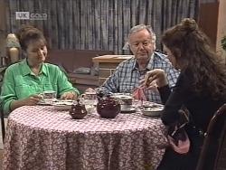 Pam Willis, Bert Willis, Gaby Willis in Neighbours Episode 1863