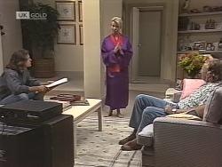 Wayne Duncan, Helen Daniels, Jim Robinson in Neighbours Episode 1863