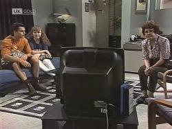 Rick Alessi, Debbie Martin, Margaret Alessi in Neighbours Episode 1863