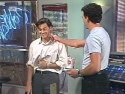 Rick Alessi, Stephen Gottlieb in Neighbours Episode 1863