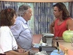 Pam Willis, Bert Willis, Wayne Duncan in Neighbours Episode 1863